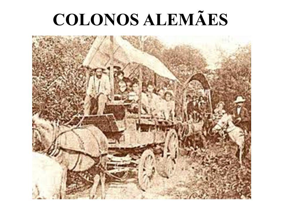 COLONOS ALEMÃES
