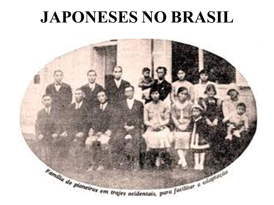JAPONESES NO BRASIL