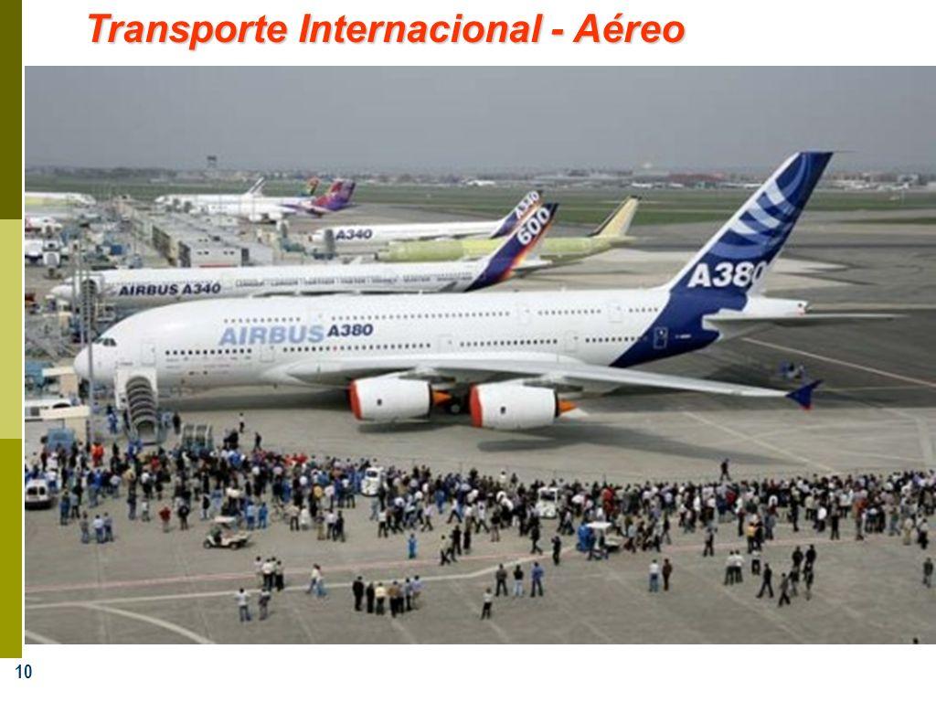 10 Transporte Internacional - Aéreo