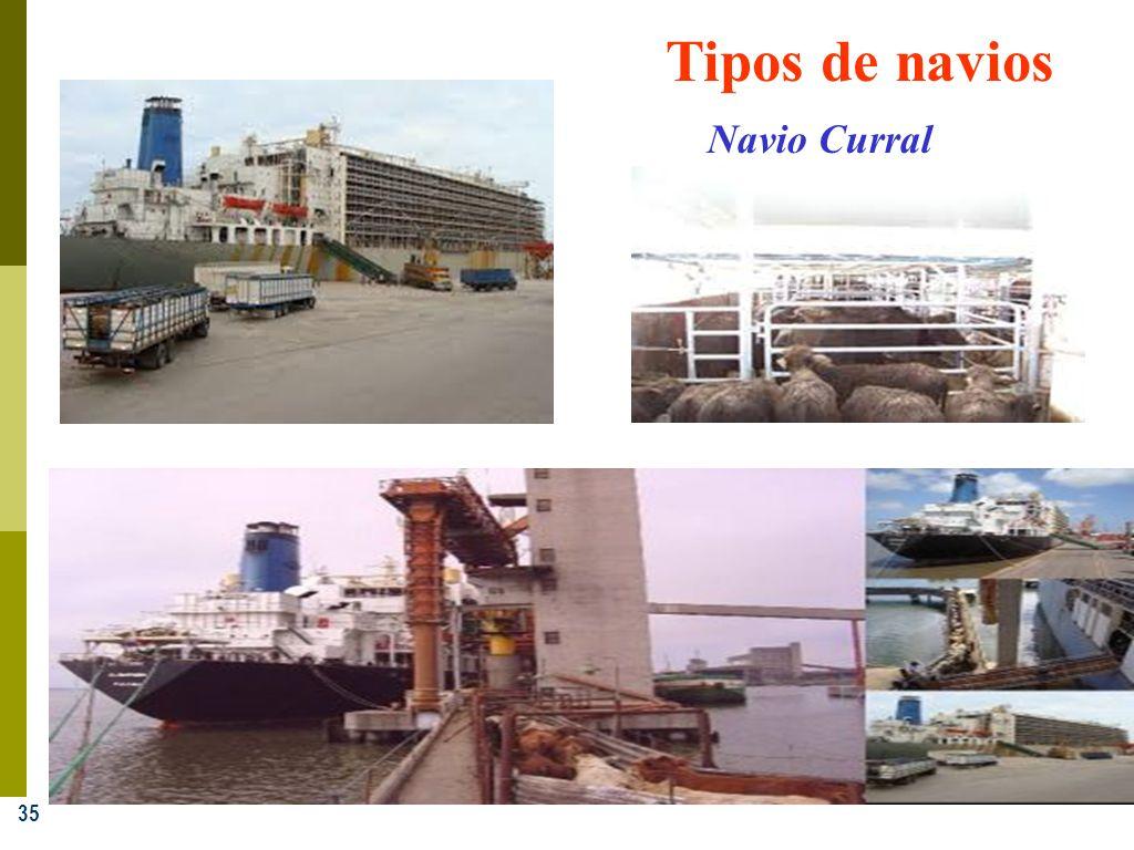 35 Tipos de navios Navio Curral