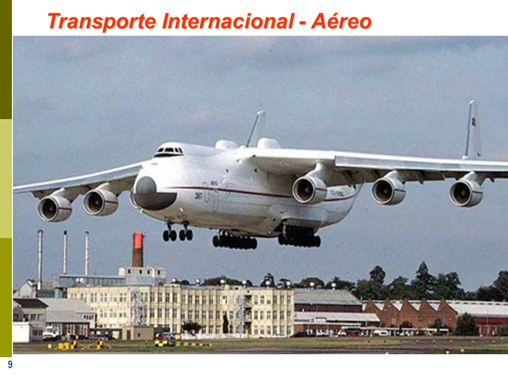 9 Transporte Internacional - Aéreo
