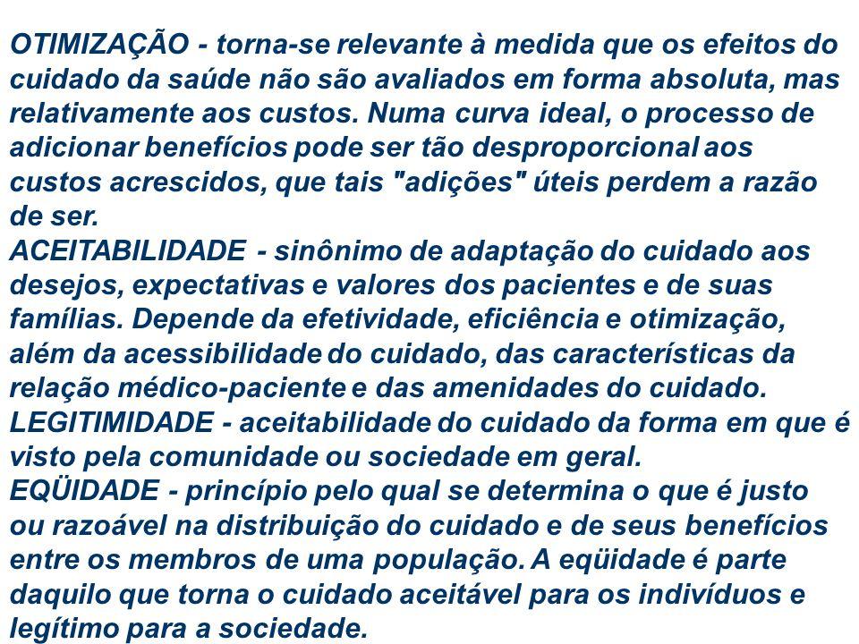 INDICADORES DE SAÚDE ESTRUTURA PROCESSOS RESULTADOS: INDICADORES GERAIS Avaliação de saúde (nível de saúde) Planejamento Monitoramento (resultados gerais) INDICADORES ESPECÍFICOS Avaliação de saúde (problemas de saúde) Planejamento Monitoramento (específicos)