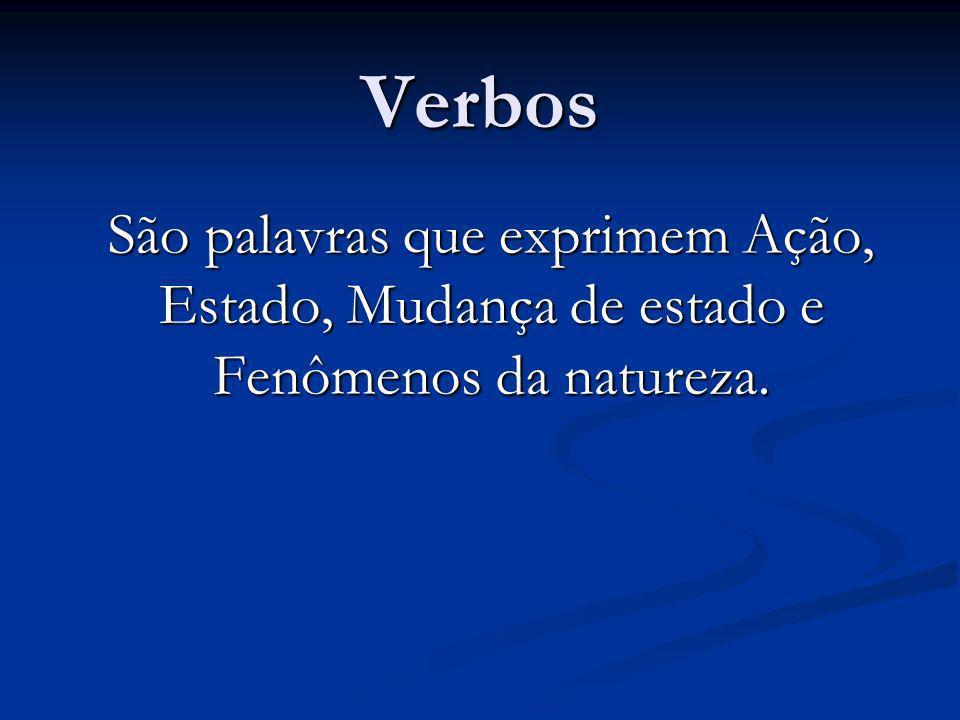 Verbos Abundantes Verbos abundantes são aqueles que apresentam mais de uma forma em alguns tempos ou pessoas.