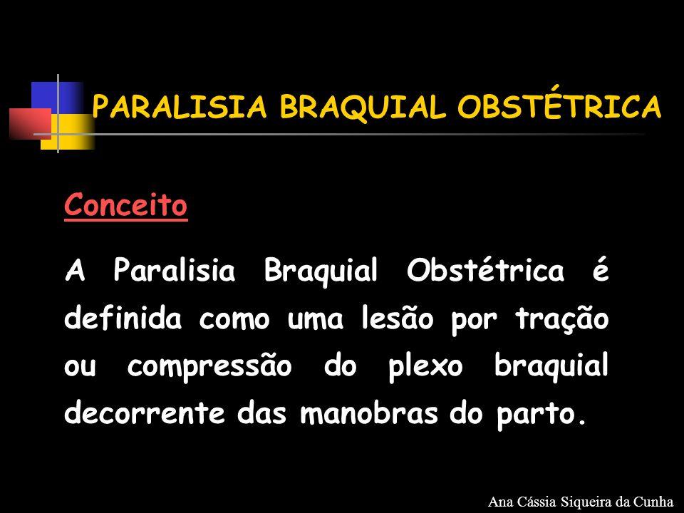 Classificação Paralisia Total - C5,C6,C7,C8 e T1 - flacidez e imobilidade de todo o membro superior, com punho fletido e mão em garra Ana Cássia Siqueira da Cunha
