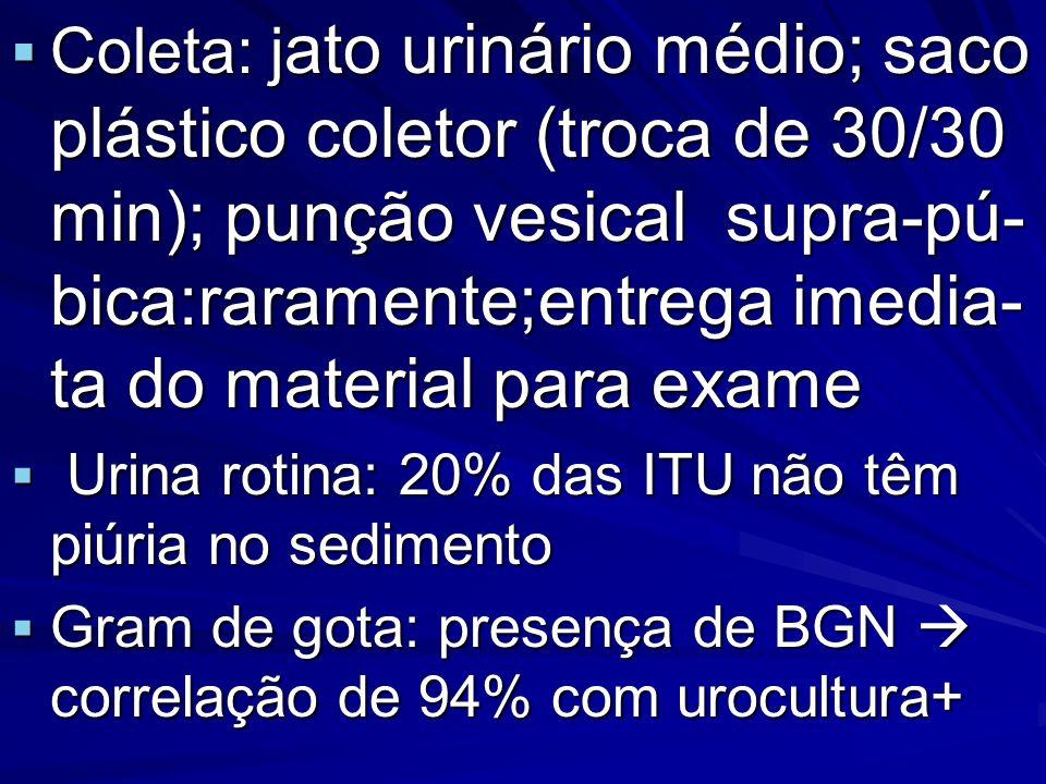 Referência bibliográfica Silva JMP et al.Infecção do Trato Urinário In: Leão E et al.