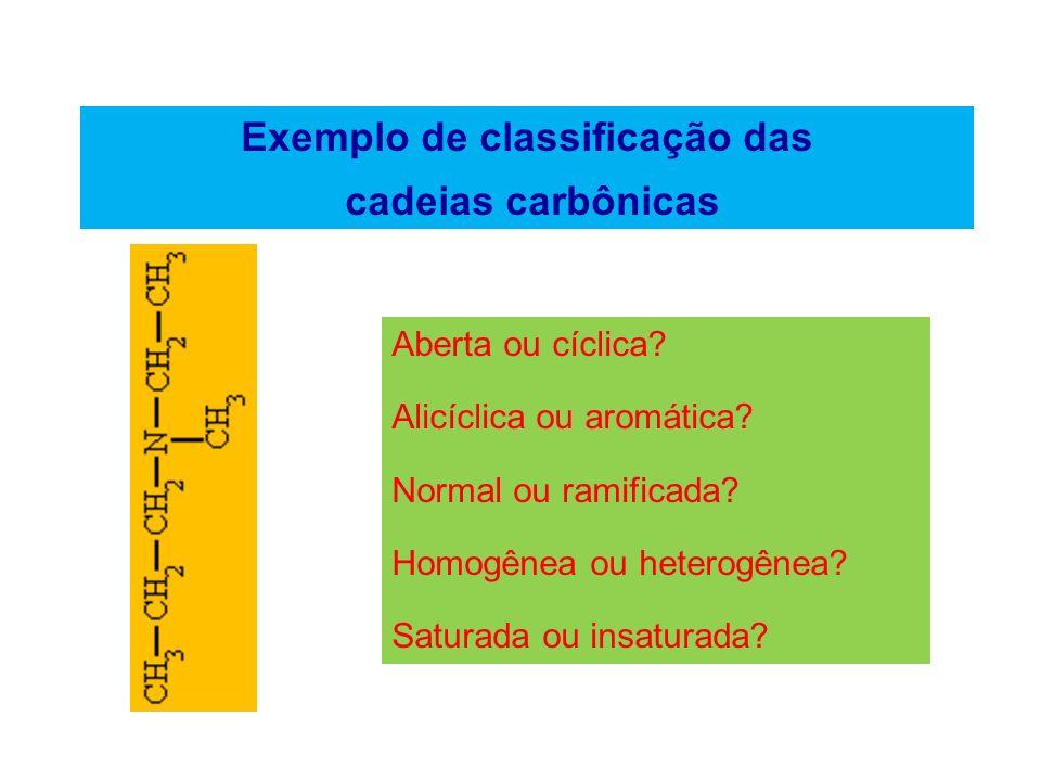 Fórmulas químicas dos compostos orgânicos Fórmula molecular Indica apenas os elementos que formam o composto número de átomos de cada elemento.
