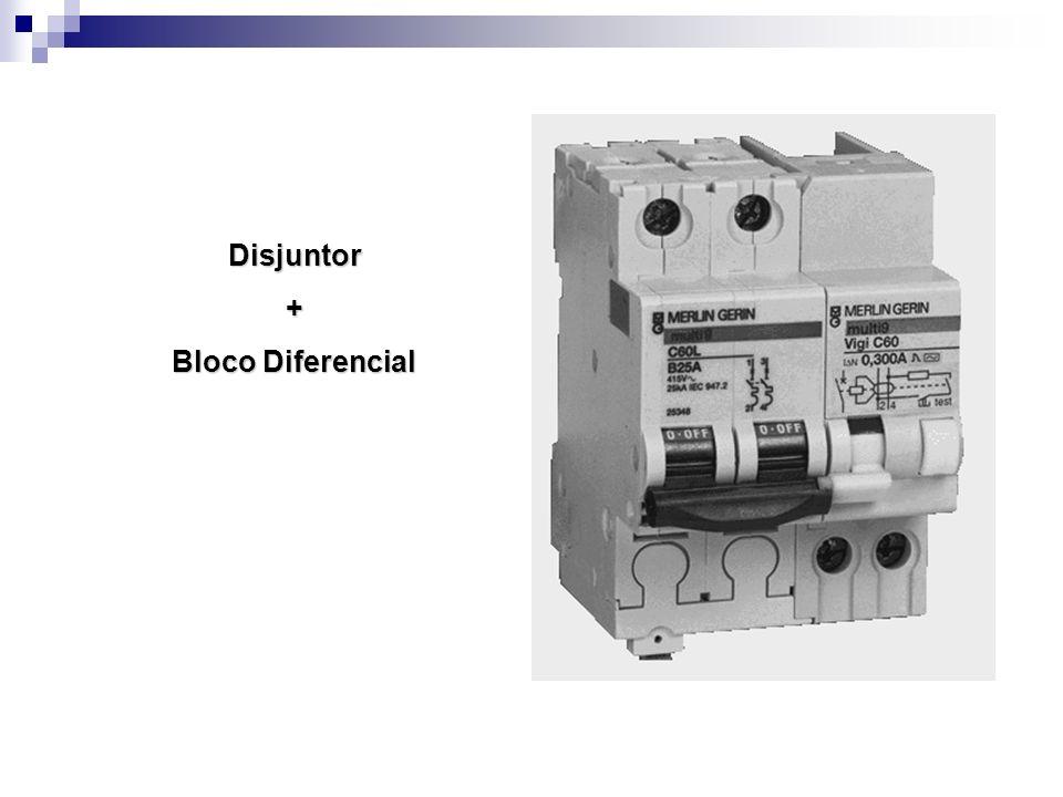 Disjuntor+ Bloco Diferencial