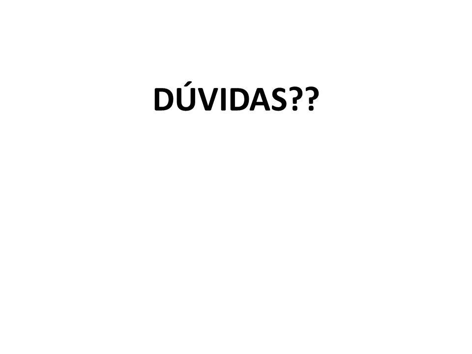 DÚVIDAS??