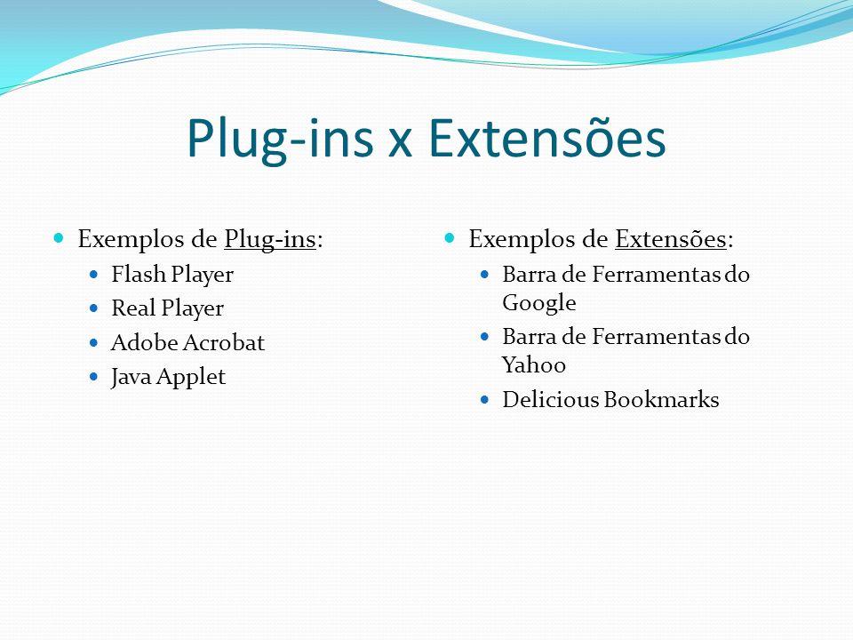 HTML para os plug-ins Adicionando plug-ins de forma compatível com os principais browsers.
