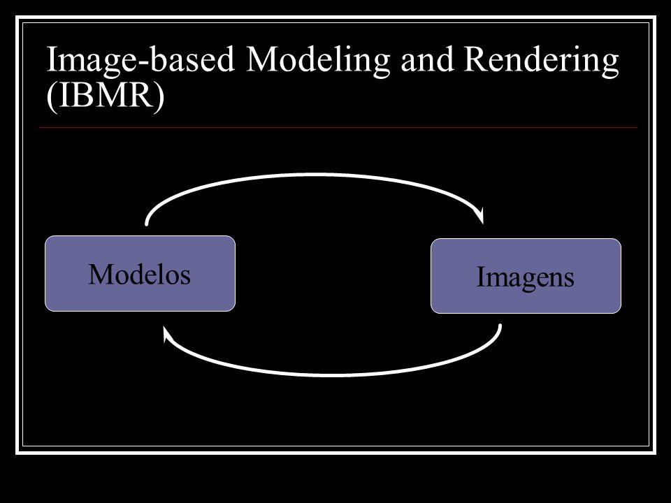 Image-based Modeling and Rendering (IBMR) Imagens Modelos