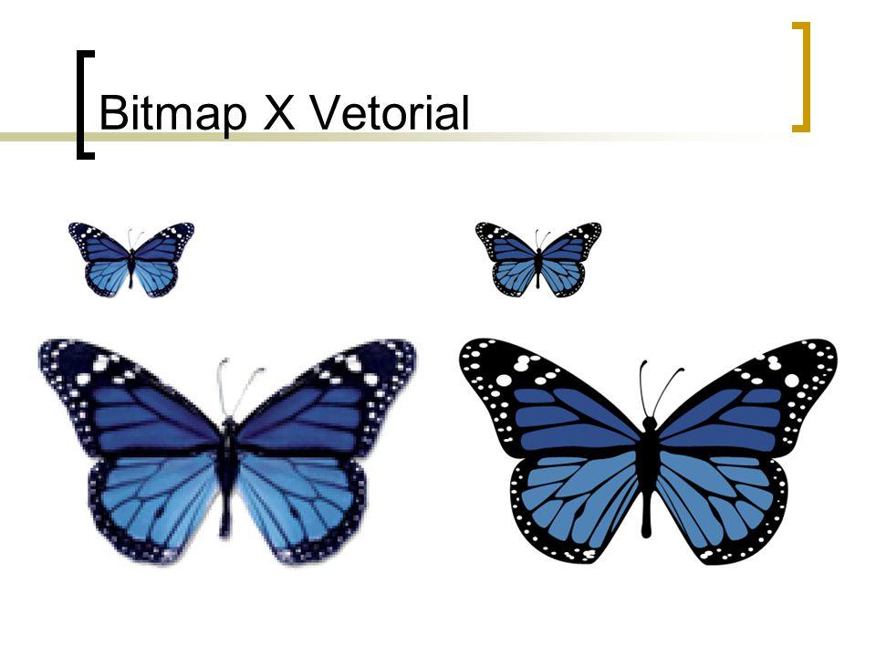 Rasterização Dispositivos gráficos utilizam representação matricial Rasterização é o processo de conversão entre representações vetorial e matricial