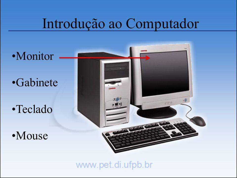 Introdução ao Computador Monitor Gabinete Teclado Mouse