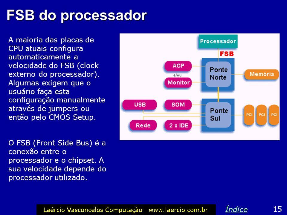 FSB do processador 14 Índice