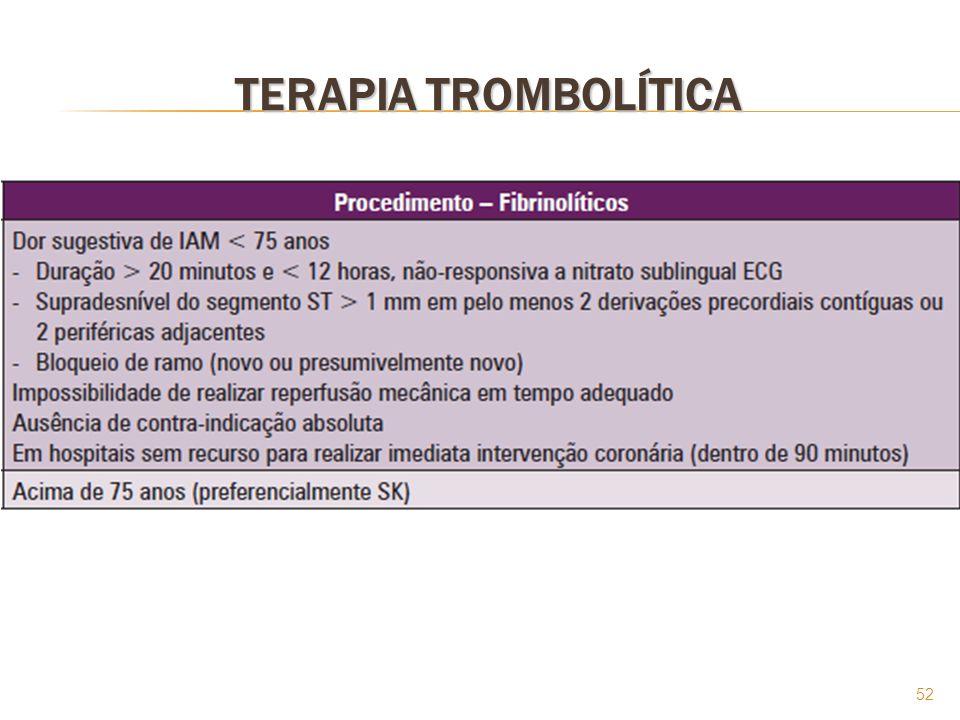 52 TERAPIA TROMBOLÍTICA