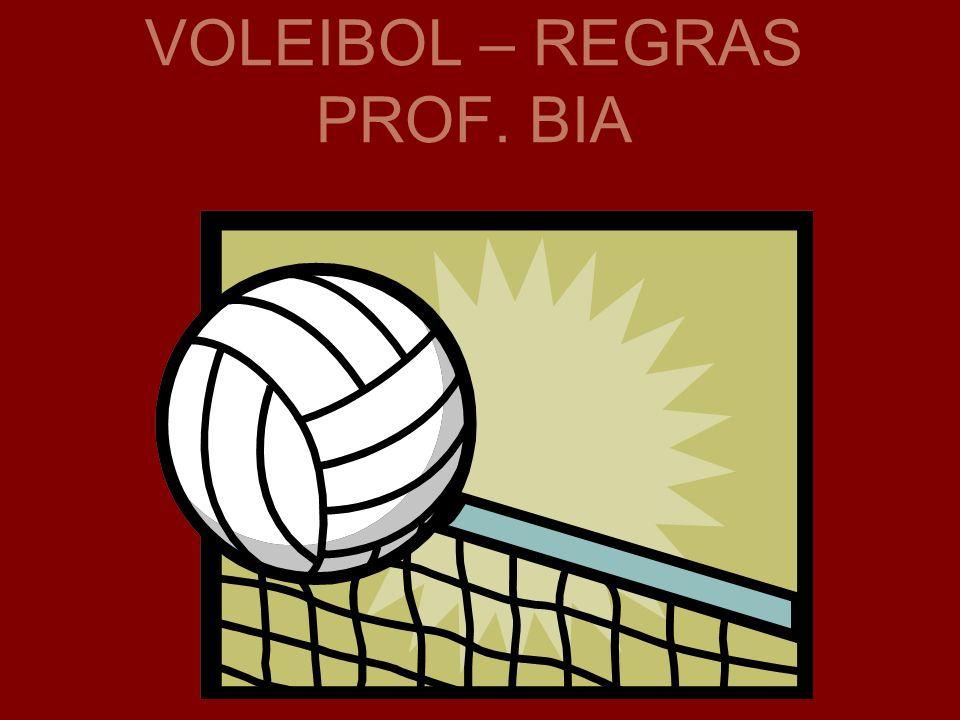 VOLEIBOL – REGRAS PROF. BIA