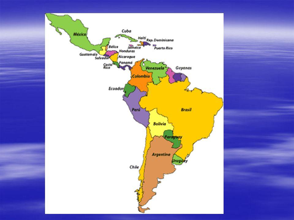 América Latina População: População: - Ameríndios; - Ameríndios; -eurameríndios -eurameríndios -euroafricanos; -euroafricanos; -brancos(europeus); -brancos(europeus); -negros(africanos); -negros(africanos); Amarelo (asiáticos); Amarelo (asiáticos); Miscigenação.