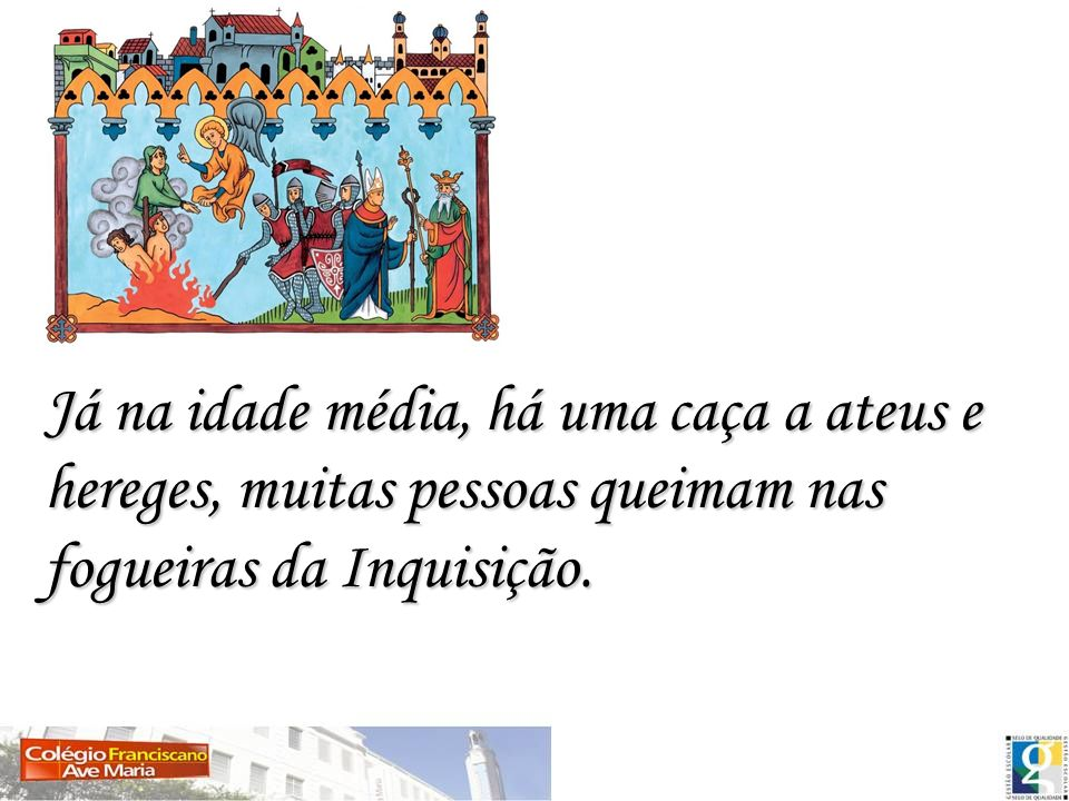 Em Roma surge a ideia de que a moralidade não pode ser justificada sem a crença em um deus.