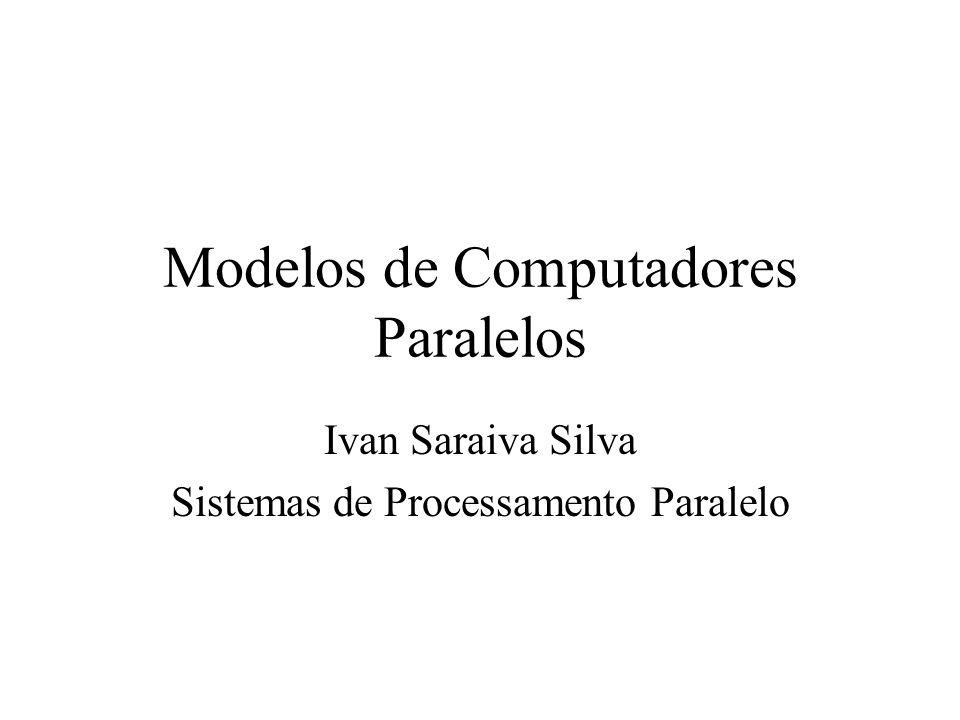 Modelos de Computadores Paralelos Ivan Saraiva Silva Sistemas de Processamento Paralelo