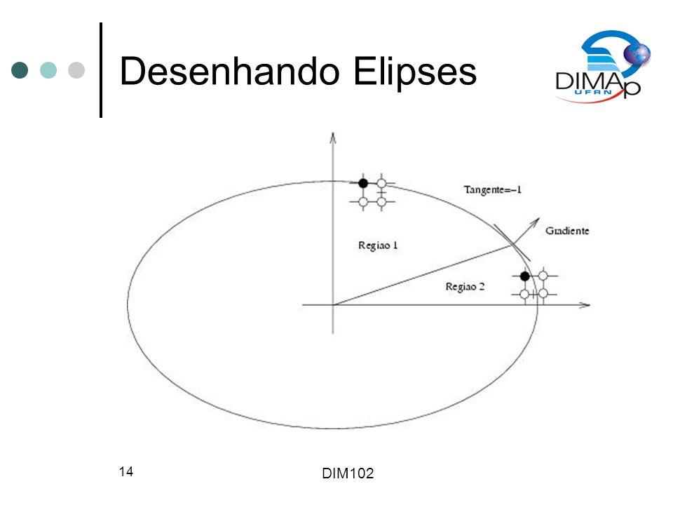 DIM102 14 Desenhando Elipses