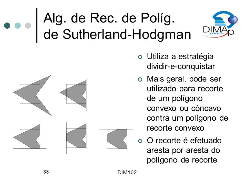 DIM102 33 Alg.de Rec. de Políg.
