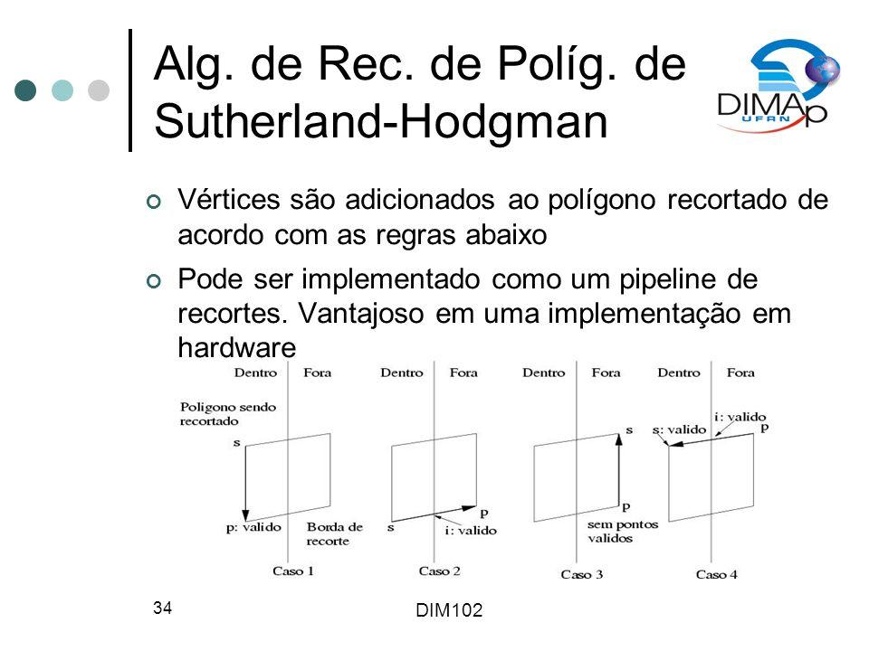 DIM102 34 Alg.de Rec. de Políg.