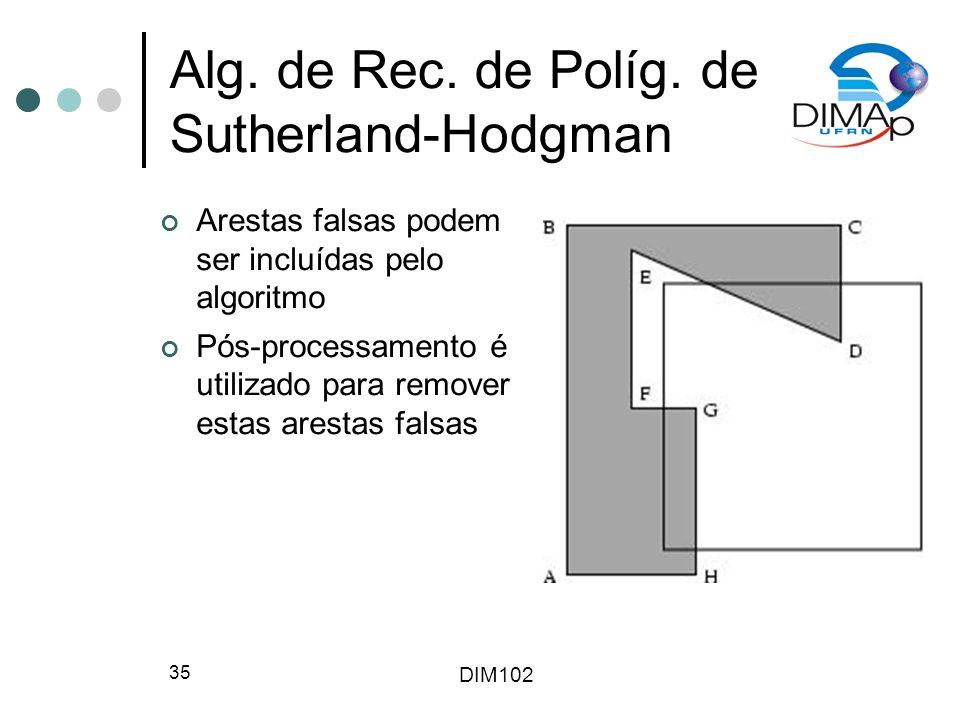 DIM102 35 Alg.de Rec. de Políg.