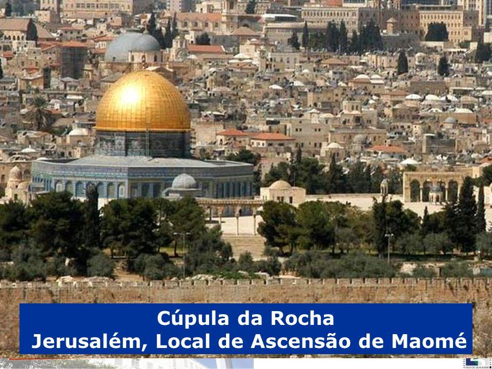 Cúpula da Rocha Jerusalém, Local de Ascensão de Maomé