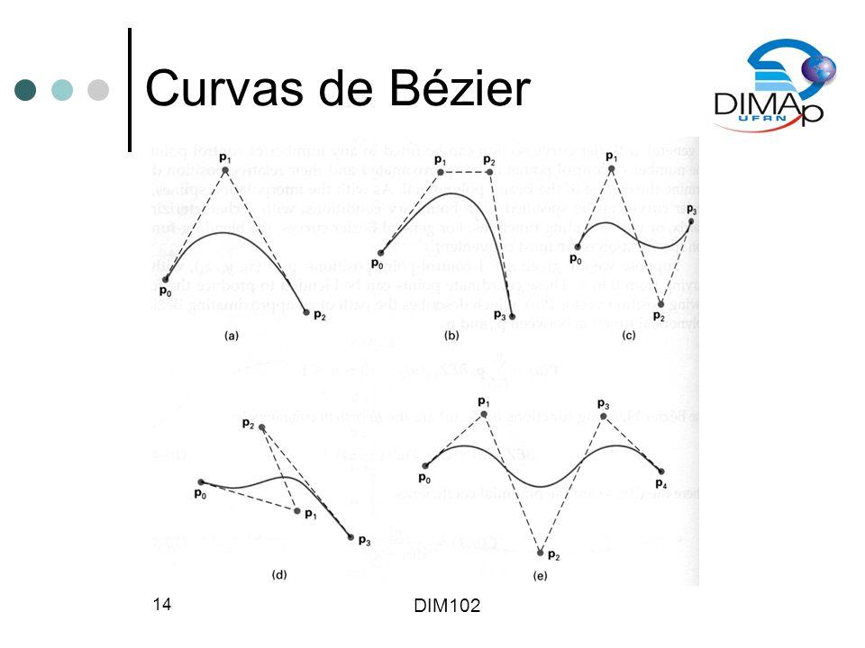 DIM102 14 Curvas de Bézier