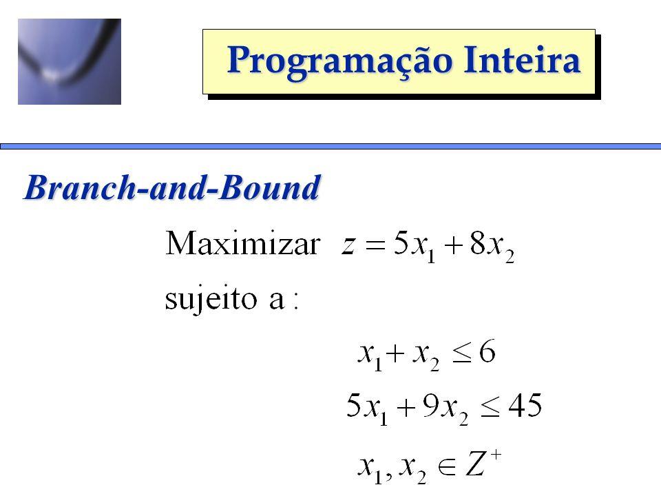 Programação Inteira Branch-and-Bound