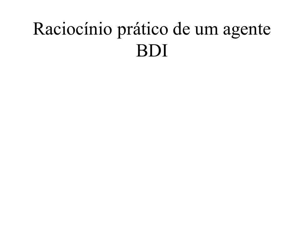 Raciocínio prático de um agente BDI