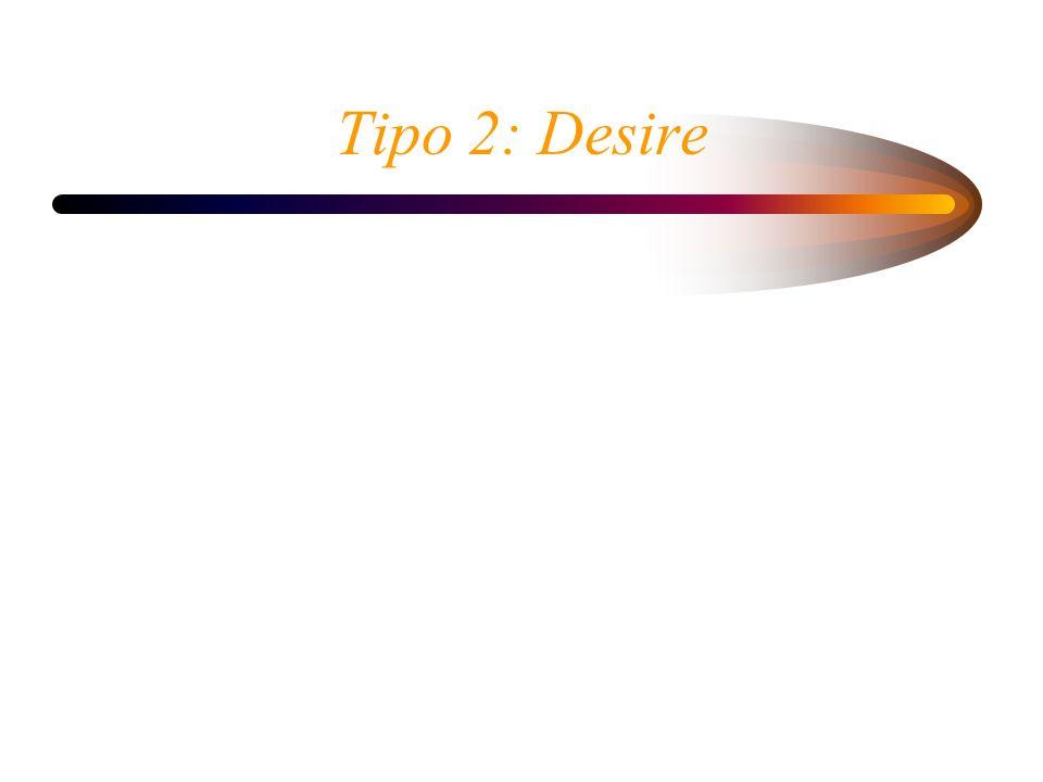 Tipo 2: Desire