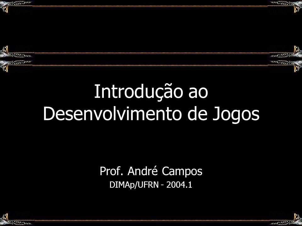 Introdução ao Desenvolvimento de Jogos Prof. André Campos DIMAp/UFRN - 2004.1