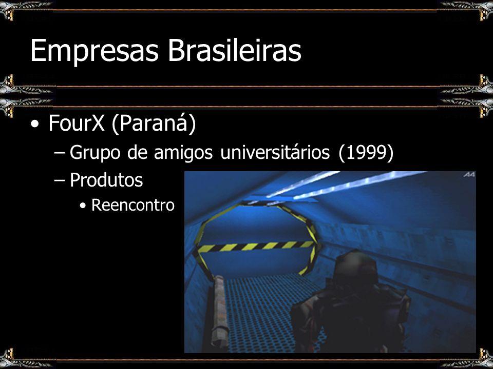 Empresas Brasileiras FourX (Paraná) –Grupo de amigos universitários (1999) –Produtos Reencontro