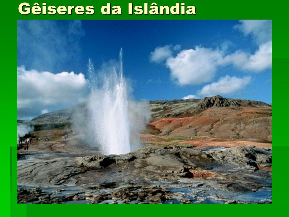 Gêiseres da Islândia