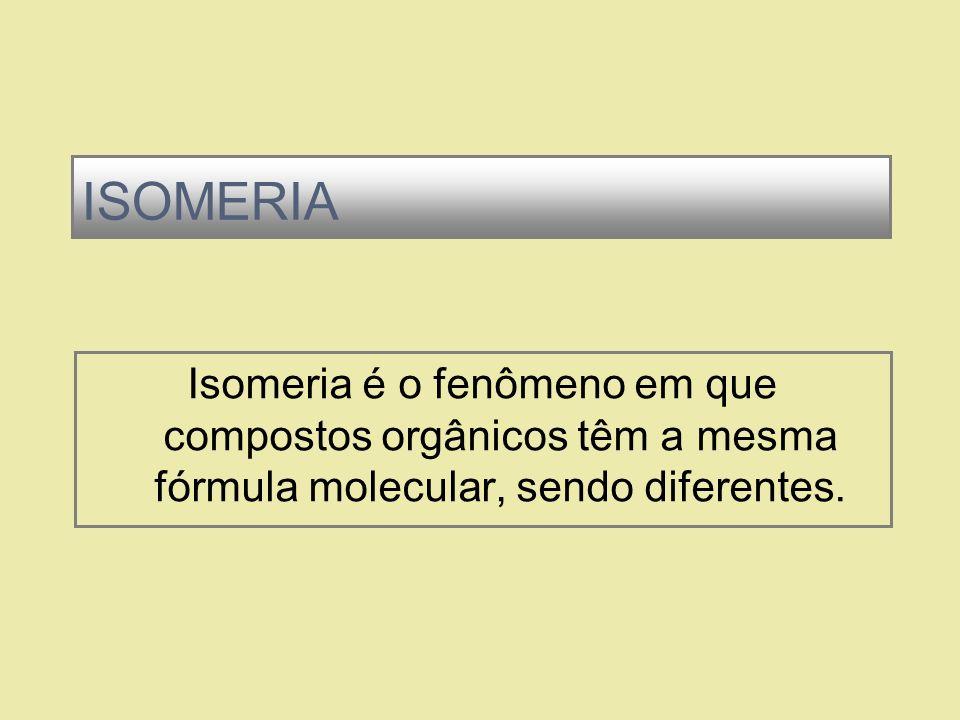 Etimologicamente, significa partes iguais. 1. ISO, igual 2. MEROS, partes ISOMERIA