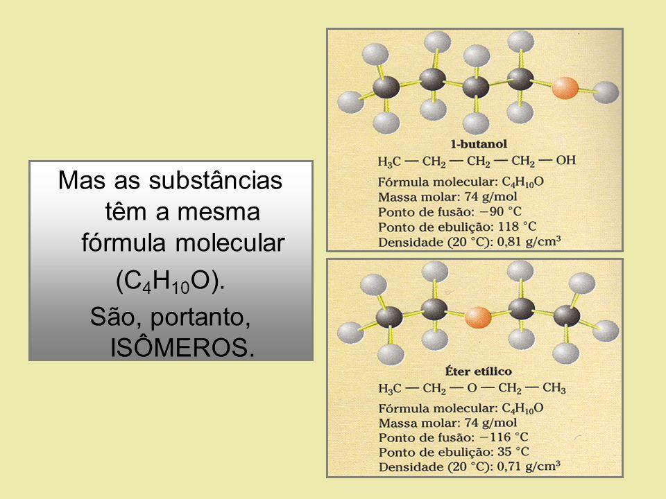 Também chamada de isomeria de compensação, é aquela em que os isômeros diferem pela posição de um heteroátomo na cadeia....