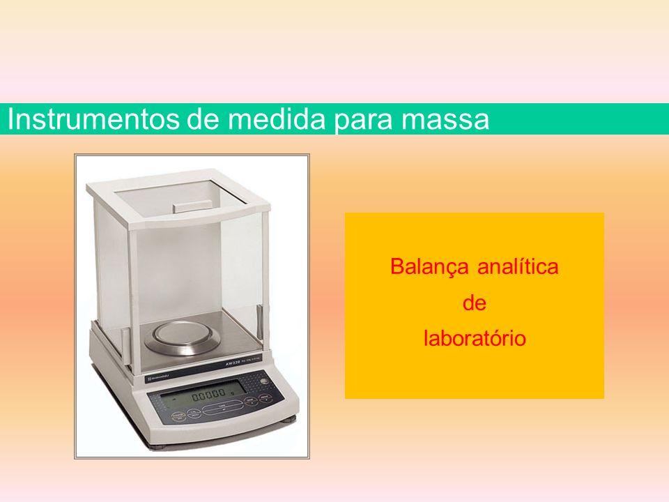 Balança analítica de laboratório Instrumentos de medida para massa