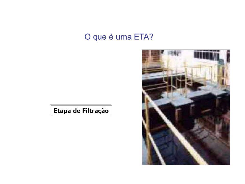 O que é uma ETA? Etapa de Filtração