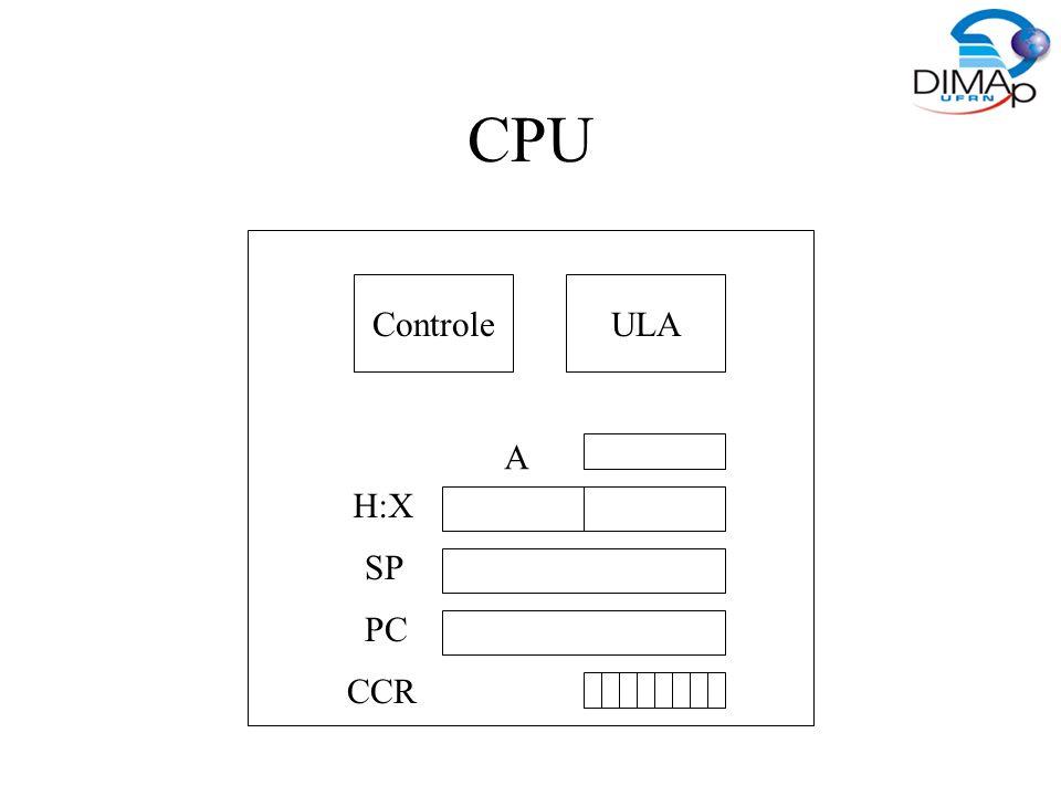 Memória ROM – Pode ser lida ou escrita.Normalmente utilizada para dados.