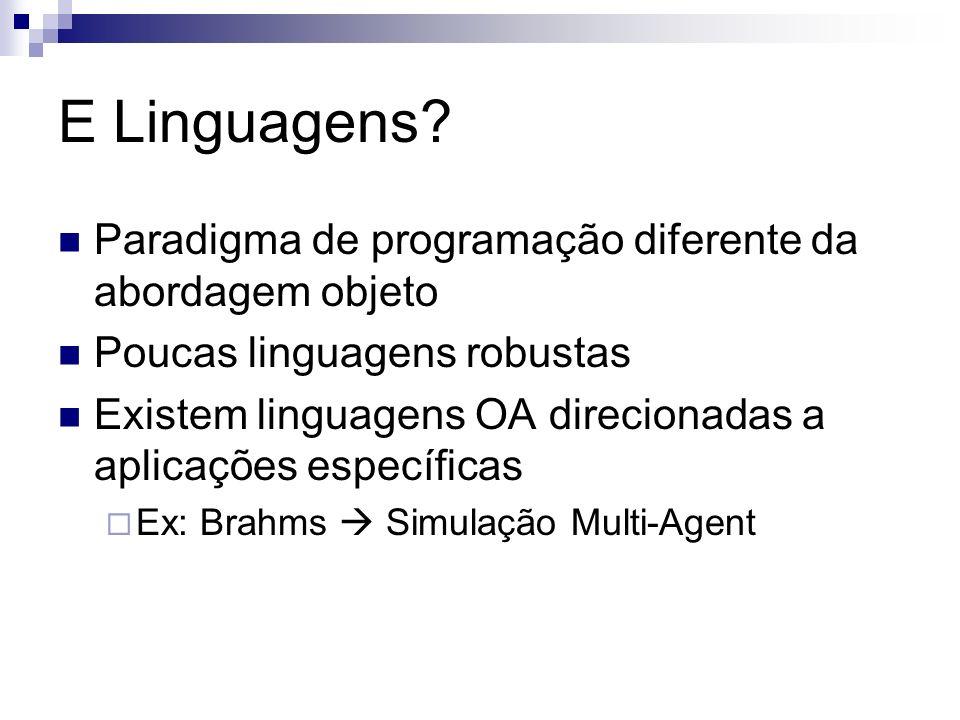 E Linguagens.