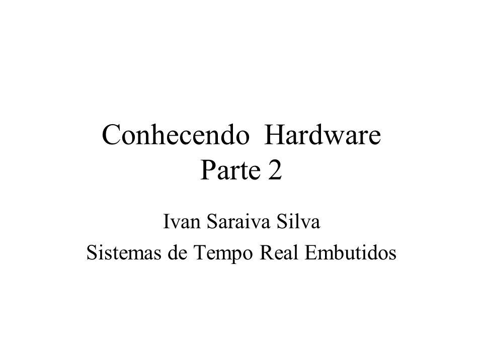Conhecendo Hardware Parte 2 Ivan Saraiva Silva Sistemas de Tempo Real Embutidos