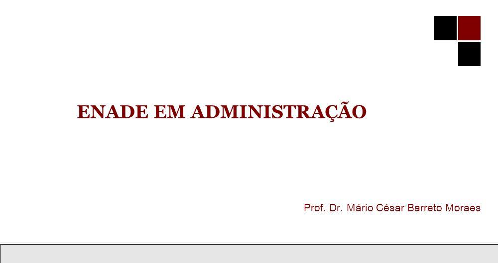 Ensino de Administração do Geral ao Específico 1 Prof.