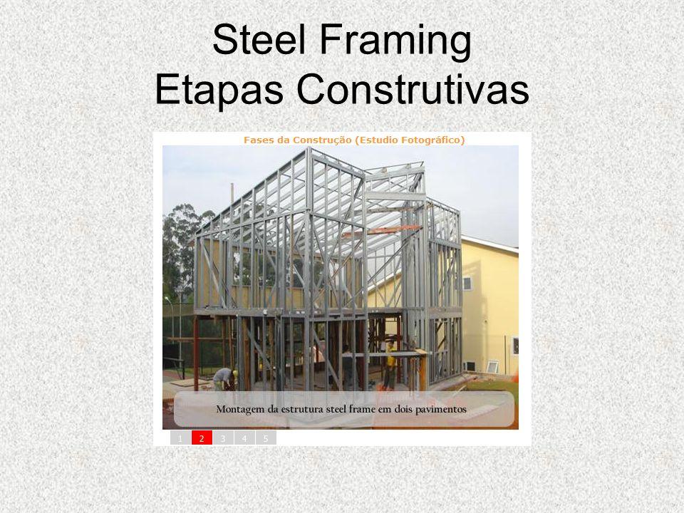 Steel Framing Etapas Construtivas