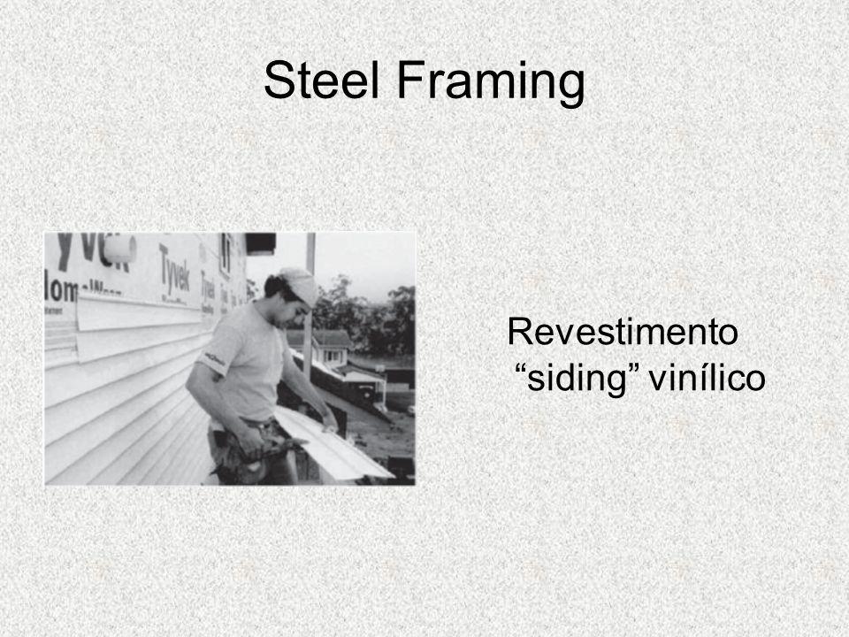 Steel Framing Revestimento siding vinílico