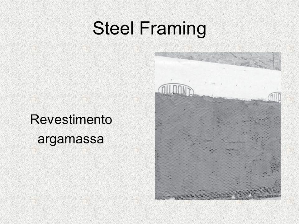 Steel Framing Revestimento argamassa