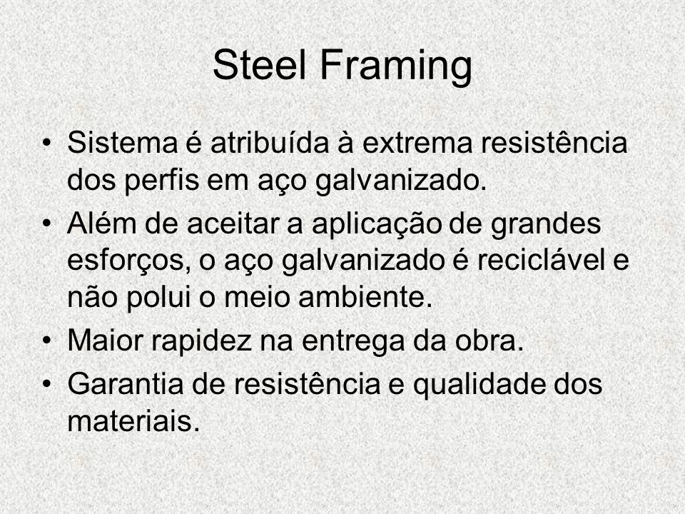 Lajes Steel Framing