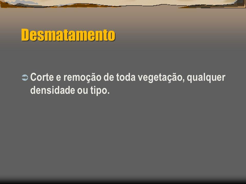 Destocamento Compreende as operações de remoção total de tocos e raízes.