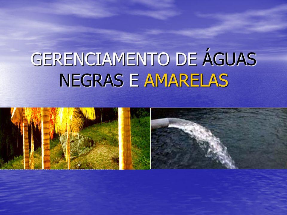 GERENCIAMENTO DE ÁGUAS NEGRAS E AMARELAS