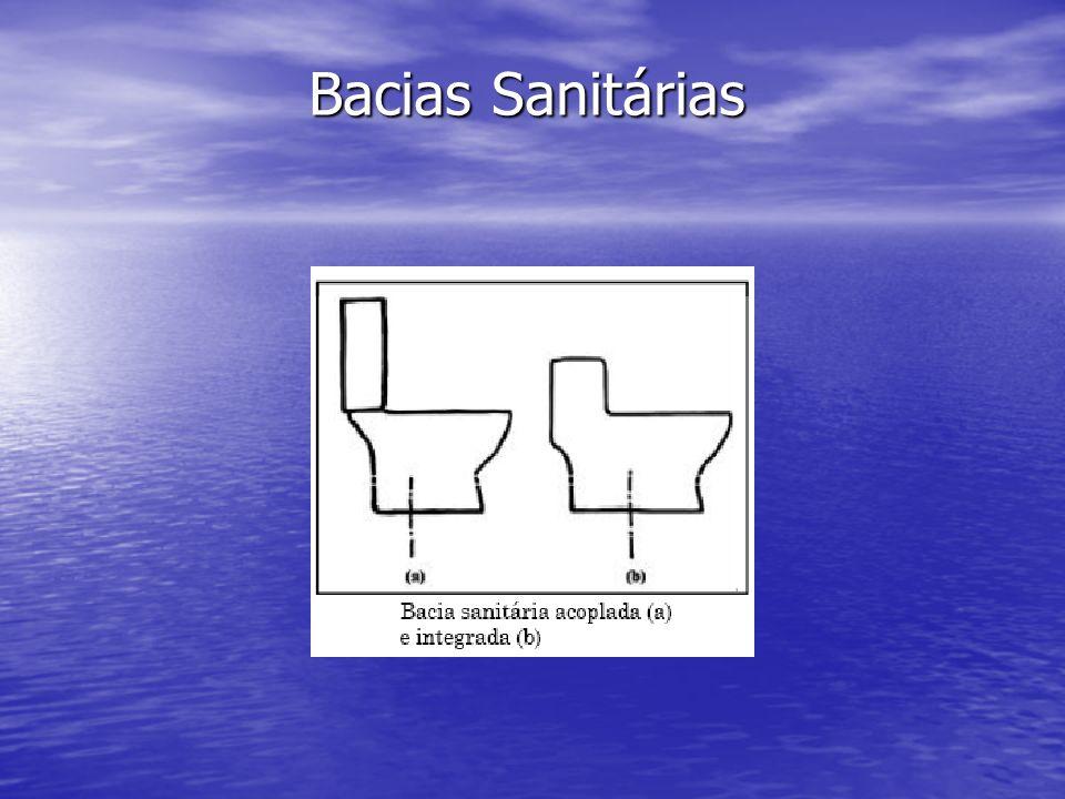 Bacias Sanitárias
