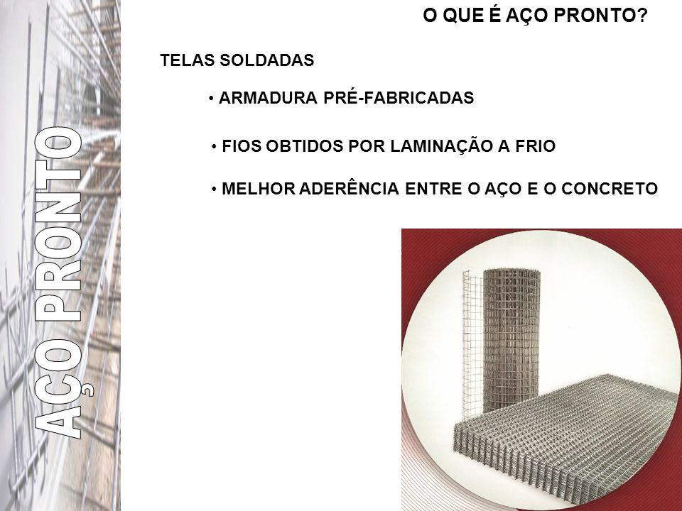 O QUE É AÇO PRONTO? É UMA TRÍPLICE PARCERIA: SIDERÚRGICA CREDENCIADO CLIENTE A qualidade Aço pronto começa na fabricação do aço Tecnologia e Precisão